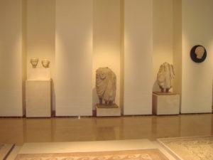 MUSEO ARCHEOLOGICO TARANTO PAVIMENTO IN CREMA GIULIA